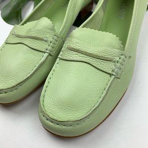 Franco Sarto Shoes - Franco Sarto Mint Green Loafers 9